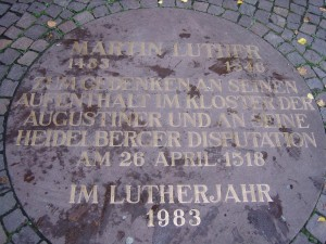 Martin Luther - Heidelberger Disputation
